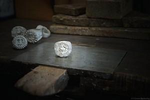 Silberring aus der Gießerei