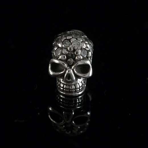 Totenkopf Ohrstecker Skull aus Sterlingsilber