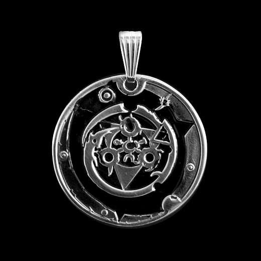 Amulett aus 935er Silber für das Unternehmen Aida