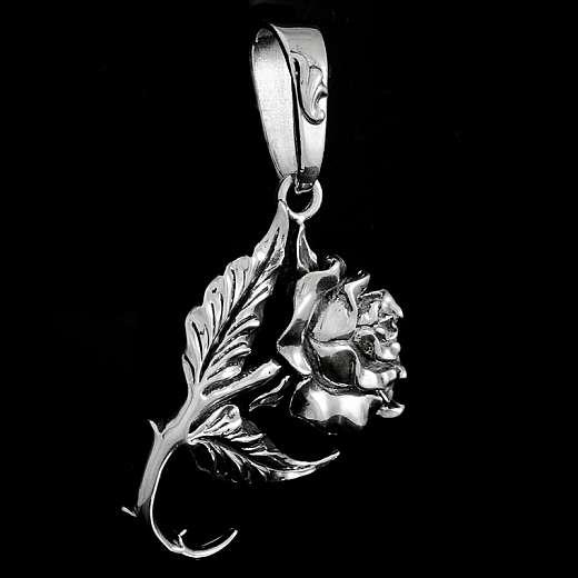 Anhänger Rose Silber Anfertigung massiv 30 Gramm!!!