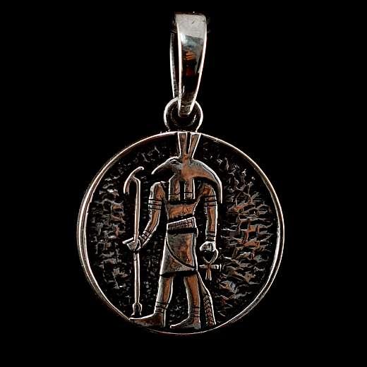 Anhänger mit Anubis aus Silber