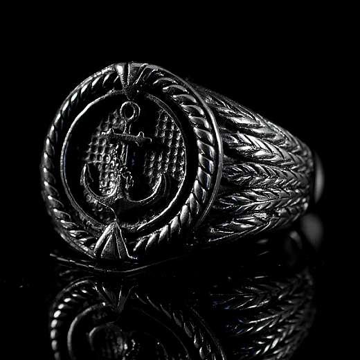 Anker Schmuck Ring mit rundem Siegel