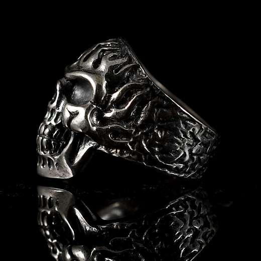 Totenkopf Bikerschmuck Ring