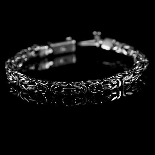 Königsketten Armband eckig