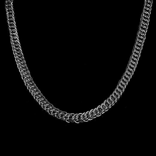 Schlangenkette aus Silber handgearbeitet