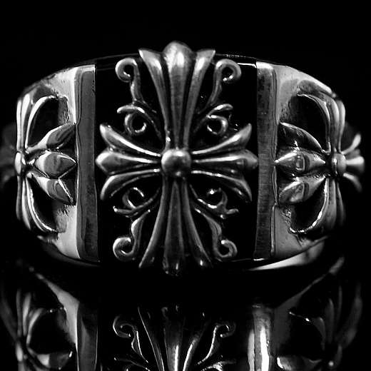 Massiver Templerkreuz Ring, Templerschmuck