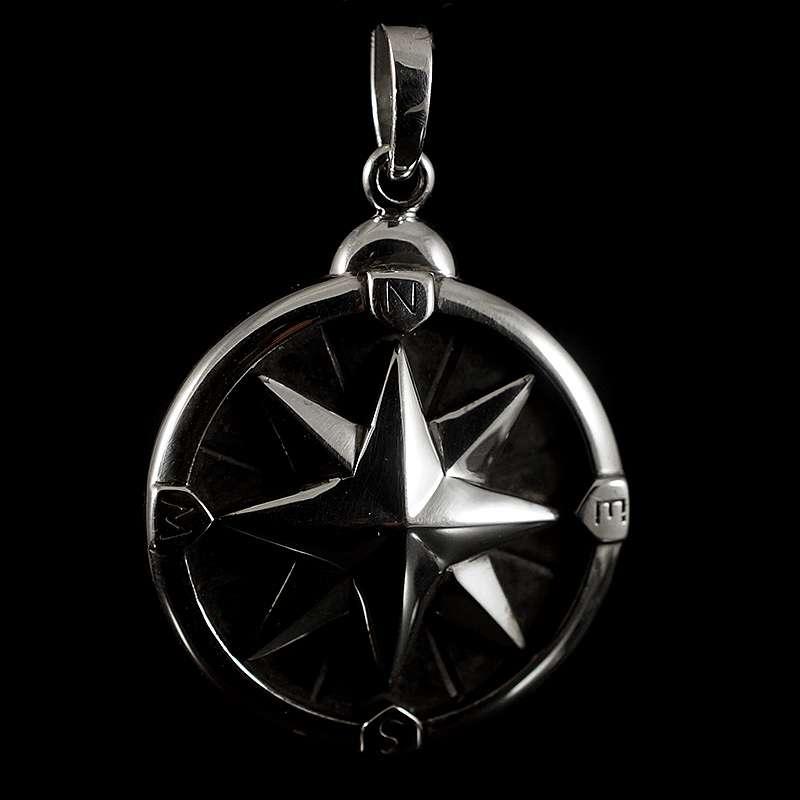Anhänger Kompass antike Windrose
