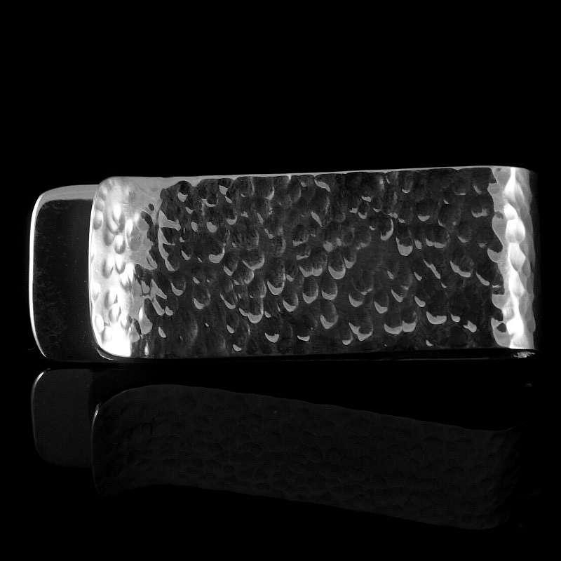 hammerschlag geldscheinklammer silber. Black Bedroom Furniture Sets. Home Design Ideas