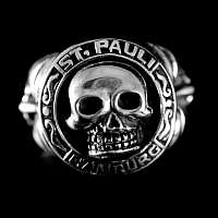 Totenkopfschmuck Ring vom Customringz