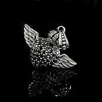 Little Flying Heart Anhänger Herz aus Ag 925 Sterlingsilber