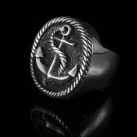 Anker Schmuck Ring Seemannsgarn small