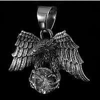 Silberschmuck Anhänger mit Adler