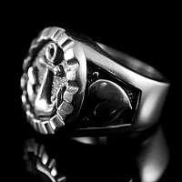 Anker Schmuck Ring Glaube Liebe Hoffnung - Poller klein