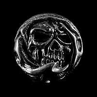 Skull Schraubniete mit Verzierungen