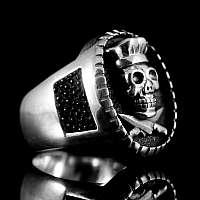 Silber Ring für Sterne Köche als Sonderanfertigung