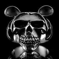 Totenkopf Ring Mickey Mouse