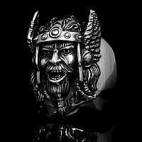 Ring aus Silber mit Gott Thor