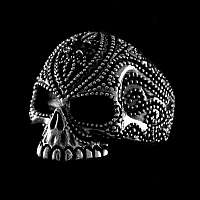 Totenkopf Schmuck Ring aus Ag 925ger Sterlingsilber