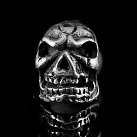 Totenkopfohrstecker aus Ag 925 Sterlingsilber