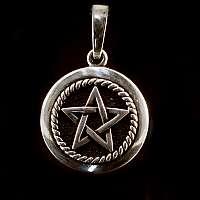 Anhänger mit Pentagram