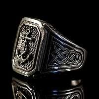 Anker Schmuck Ring mit Siegel