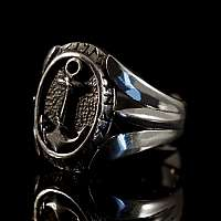 Anker Schmuck Ring aus Silber