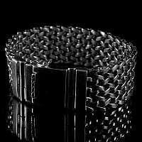 Armband im Milanaise Style breit