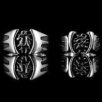 Eheringe handgearbeitet aus 935er Silber