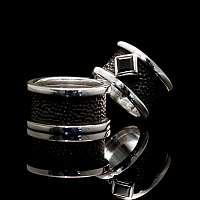 Eheringe, Trauringe mit Spinell aus 935er Silber