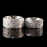 Eheringe gesintert aus 935er Silber
