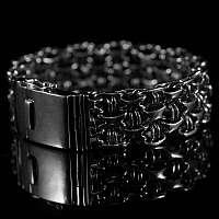 Geflochtenes Armband breit