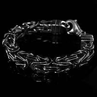 Königskette Armband Bikerschmuck