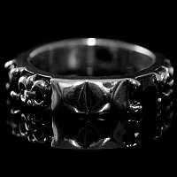 Fleur de Lis zierlicher Mittelalterschmuck Ring