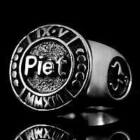 Sonderanfertigung Ring mit Name und Datum
