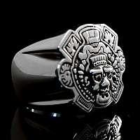 Ring Mayans Mc aus Silber
