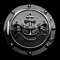 Rocker Schmuck Gürtelschnalle aus 935er Silber