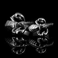 Skorpion Ringe handgefertigt aus Platin