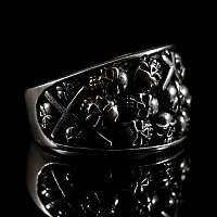 Skullringe aus Silber