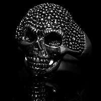 Totenkopf, Skullringe kleine Verzierung