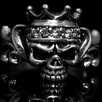 Skullringe mit Krone