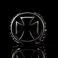 Templer Schmuck Ring aus Sterling Silber