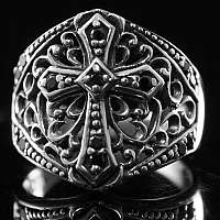 Templerschmuck Ring Templerkreuz Musterung