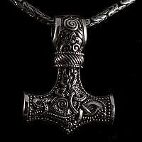 Wikinger Schmuck Anhänger Thors Hammer