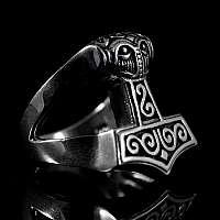 Thors Hammer Schmuck Ring