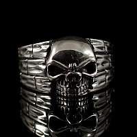 Totenkopf Ring The Wall von Customringz