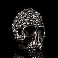 Totenkopf Ring Biker Schmuck