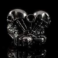 Ring Motor V2 mit Totenkopf