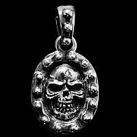 Anhänger Totenkopf Wappen
