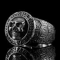 St. Pauli Totenkopfringe aus Sterling Silber