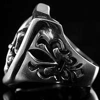 Lilien Wappenring, Mittelalterschmuck
